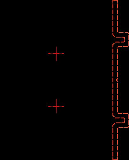 Baguette sezione